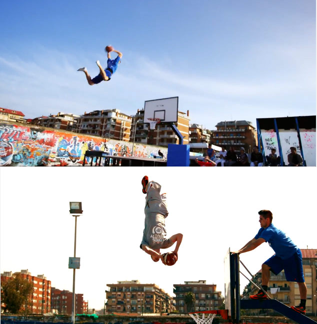 Curta do dia StreetBasketball – Freestyle